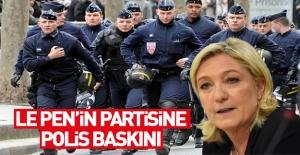 Fransa'da Le Pen'in partisine polis baskını
