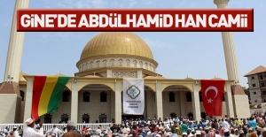 Gine'de Sultan II. Abdülhamid Han Camisi açıldı