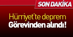Hürriyet#039;te deprem!