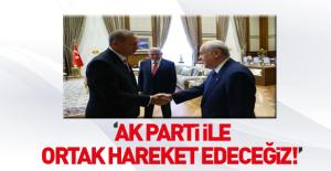 MHP'den referandumda AK Parti ile ortak çalışma sinyali