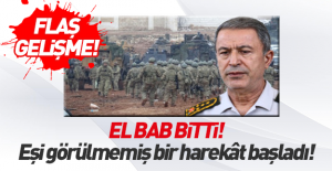 Org. Akar: El Bab operasyonu bitti!