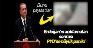 PYD'de büyük panik!
