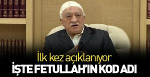 Teröristbaşı Gülen'in Kod adı ortaya çıktı
