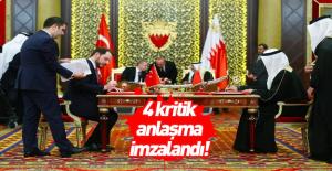 Türkiye ile Bahreyn arasında 4 önemli...
