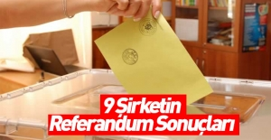 9 anket şirketinin referandum araştırması...
