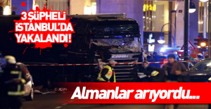 Almanların aradığı terör şüphelileri...