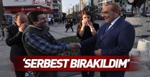 Atatürk'e benzeyen Göksel Kaya serbest bırakıldı!