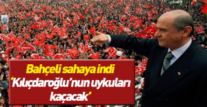 Devlet Bahçeli, ilk #039;evet#039;...