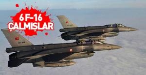 Diyarbakır'da 6 F-16'yı gasp etmişler!