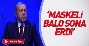 Erdoğan#039;dan Avrupa#039;ya: Maskeli...