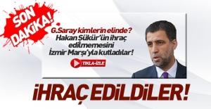 Galatasaray Hakan Şükür ve Arif Erdem için ihraç kararı çıktı!