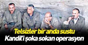 PKK'ya ağır darbe! Kandil'le irtibatı kesildi