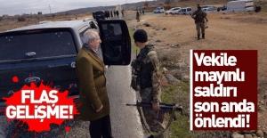 Son dakika: AK Partili vekile mayınlı saldırı… Son anda engellendi!