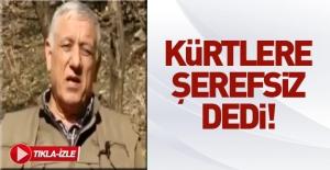Terör örgütü PKK'dan Kürtlere hakaret!