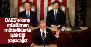 Trump ilk kez ABD Kongresine konuştu