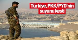 Türkiye, PKK/PYD#039;nin suyunu kesti