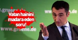 Vatan haini Cem Özdemir'i madara eden soru! Cevap bile veremedi