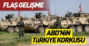 ABD'nin zırhlı araçları Türkiye sınırında