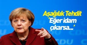 Almanya'dan Türkiye'ye idam referandumu tehdidi
