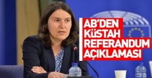 Avrupa Parlamentosu#039;ndan ilk açıklama