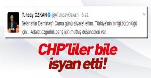 CHP vekilin Demirtaş'ı ziyareti büyük tepki çekti.