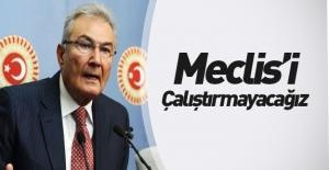 Deniz Baykal#039;dan Meclis#039;i...