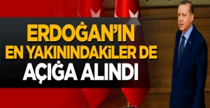 Erdoğan'a en yakın isimler de açığa alındı.
