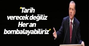 Erdoğan'dan ABD-YPG fotoğraflarına sert tepki