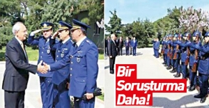 Kılıçdaroğlu'nun karşılanması Teftiş Kurulu'nda