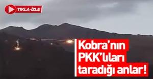 Kobra helikopterinden teröristlerin vurulduğu anlar