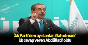 Abdüllatif Şener#039;den Erdoğan#039;ın...