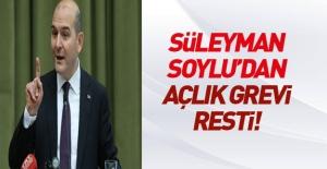 Bakan Soylu'dan 'açlık grevi' açıklaması!