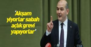 Bakan Soylu Nuriye Gülmen ve Semih Özakça'yı anlattı