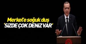 Cumhurbaşkanı Erdoğan Merkel#039;le...
