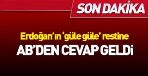 Erdoğan#039;ın AB restine ilk yanıt...