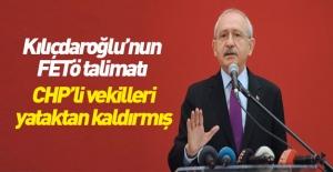 Kılıçdaroğlu, vekilleri yataktan kaldırıp...