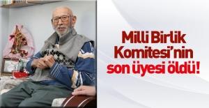 Milli Birlik Komitesi'nin son üyesiydi.