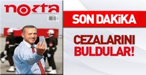 Nokta dergisi yöneticileri cezalarını buldu!