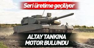 O sorun da aşıldı! Altay tankına...