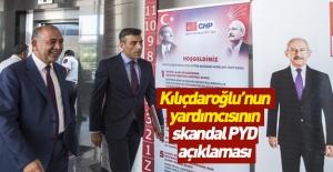 Öztürk Yılmaz'dan skandal PYD açıklaması