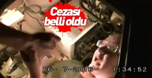 Tanktan çıkan FETÖ'cü eski polis müdürüne istenen ceza belli oldu