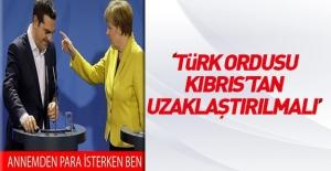Aleksis Çipras: Türk ordusu Kıbrıs#039;tan...