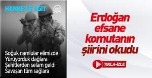 Cumhurbaşkanı Erdoğan şehit generalin...