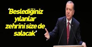 Erdoğan, AK Parti bayramlaşma töreninde