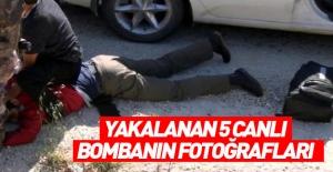 Hatay'da MİT ve polis operasyonuyla 5 canlı bomba yakalandı