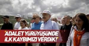 Kılıçdaroğlu : Adalet yolunda ilk...