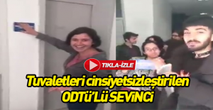 ODTÜ'lülerin cinsiyetsiz tuvalet sevinci