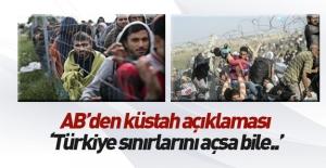 AB#039;den küstah açıklama: Türkiye...