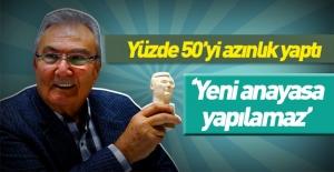 Deniz Baykal: Yüzde 50 ile anayasa yapılmaz!