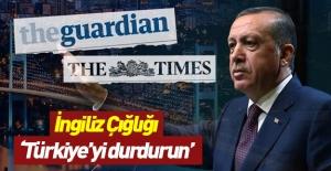 İngiliz basını çıldırdı: Türkiye'yi durdurun!